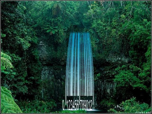 Страна штрихкодов: реки и водопады