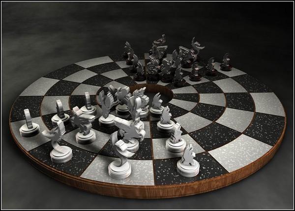 Шахматное поле зрения: обещанная круглая доска