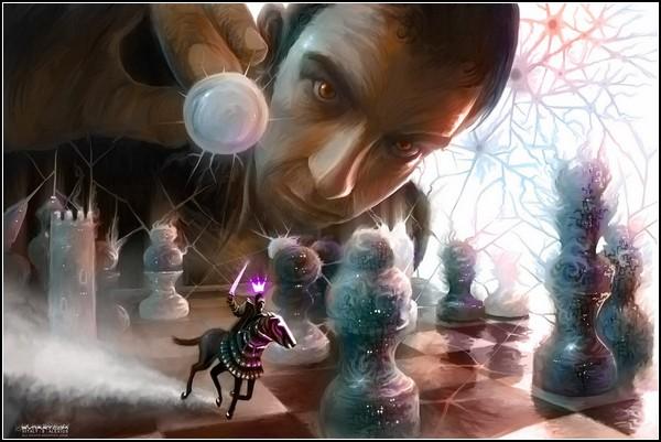 Шахматное поле боя: мастера войны