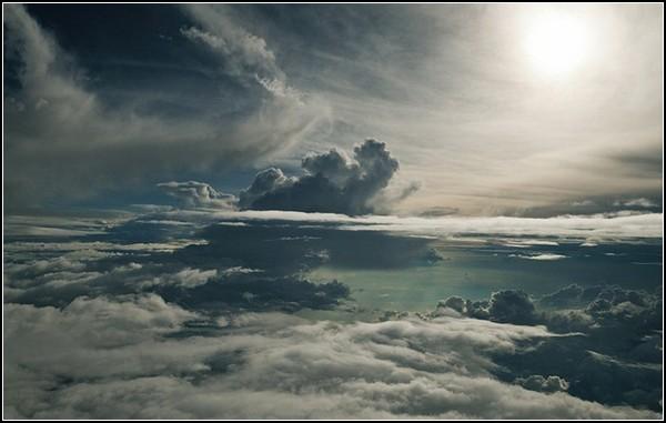Небесные фото с борта самолета