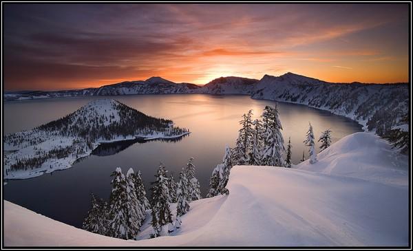 Зима и солнце: сумерки начинаются