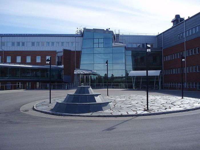 Шведская модель Солнечной системы: терминал в Институте физики космоса в Кируне