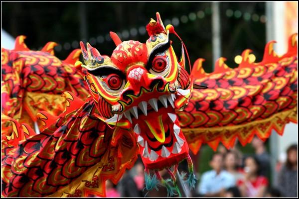Новый год в китайском стиле - всегда год Дракона