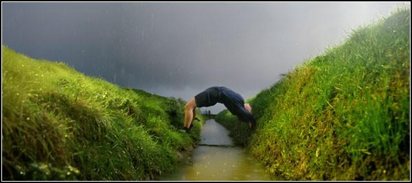 Человек и живая природа фотокартины