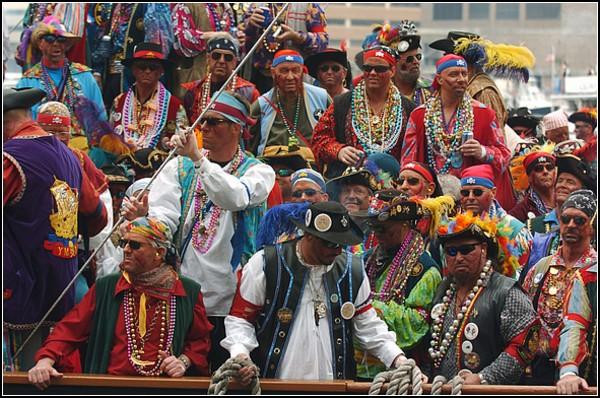 Пираты 21 века: фестиваль в Тампе