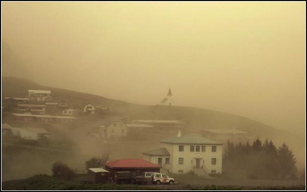 Прекрасное и ужасное рядом: извержение вулкана Гримсвотн на фото