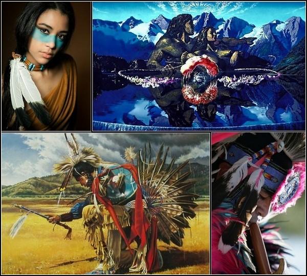 Индейская Америка в картинках