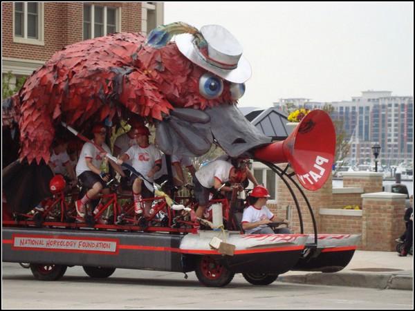 Безумные гонки: Огромный Красный Утконос
