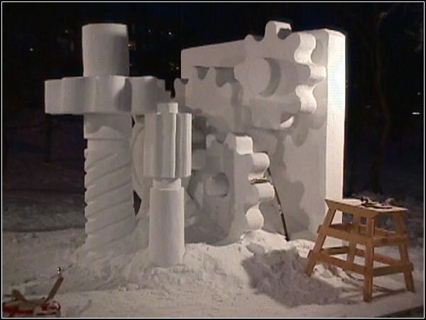 Снежный фестиваль в Кируне