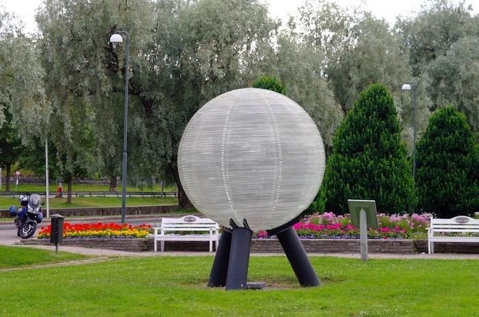 Шведская модель Солнечной системы: Нептун