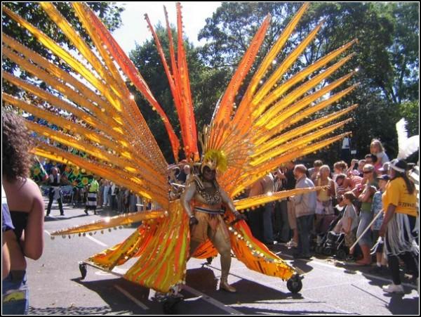 Ноттинг-Хилл: крупнейший карнавал в Лондоне