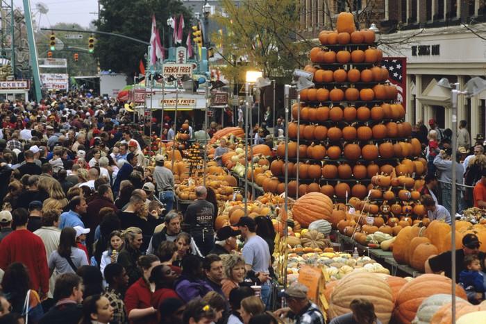 Большие тыквы: фестиваль в Серклвилле