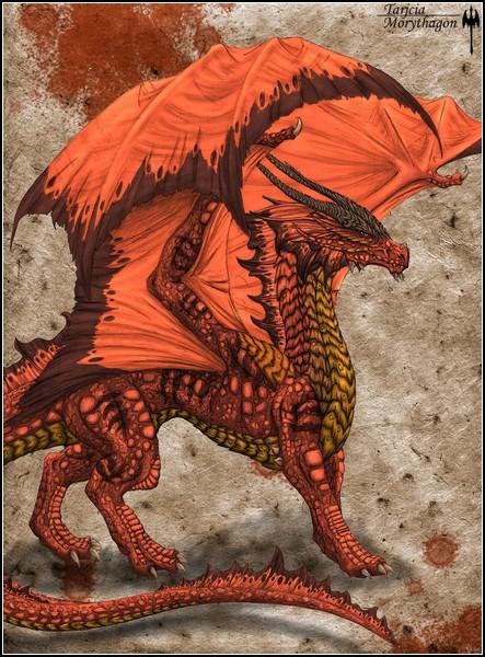 Средневековые драконы в фентезийном мире