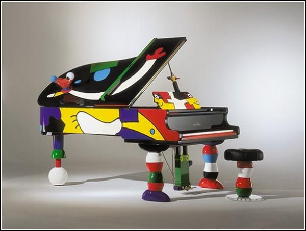Пианино Шиммель в стиле Отмара Альта