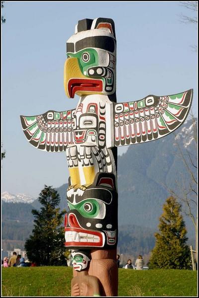 Индейская Америка: тотемный столб