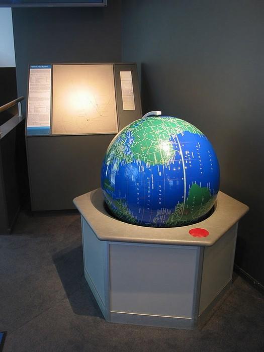 Шведская модель Солнечной системы: Земля