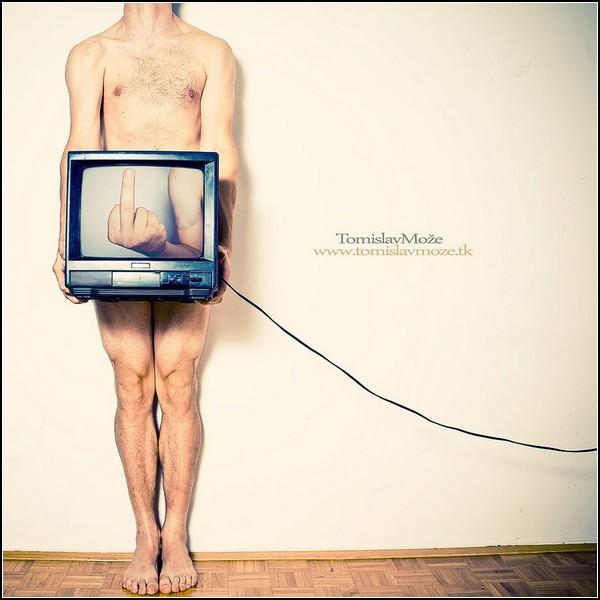 Лабиринт отражений: человек как телеэкран