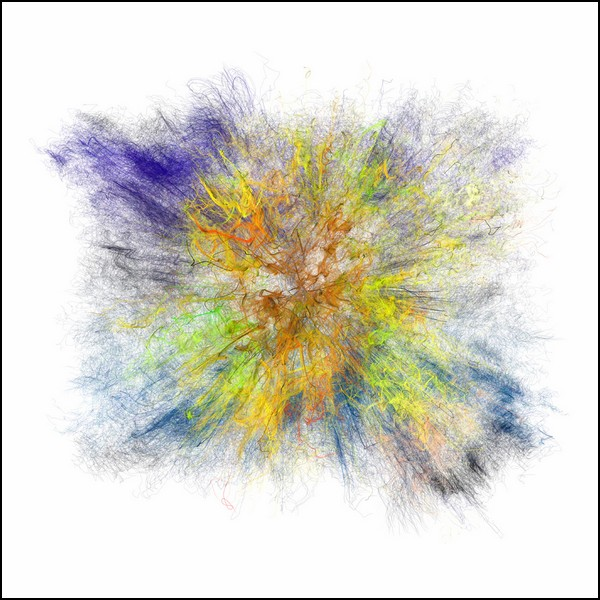 Абстрактные картины Томаса Бриггса