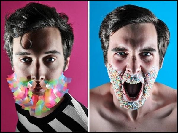 Накладные бороды от Niqi Segers