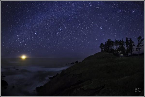 Небо. Ночь. Звезды. Фотографии Бена Каналеса