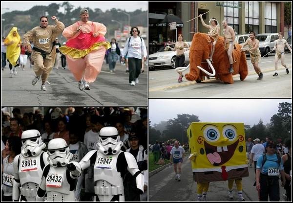 Ходьба как игра. Самый эксцентричный пеший марафон в мире