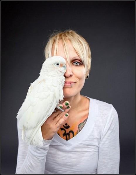 Люди и животные. Фото Карли Дэвидсон