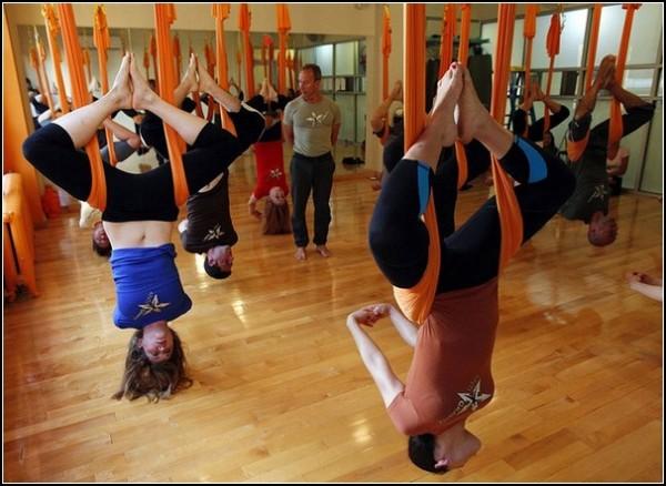 Новая йога: антигравитация
