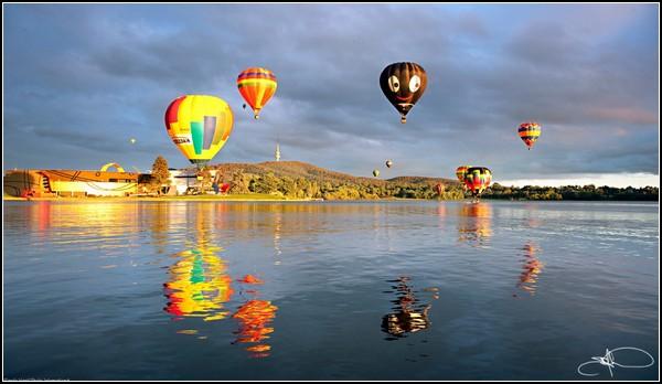 Праздник воздушных шаров в Канберре