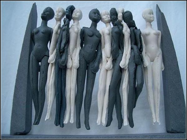 Страна штрихкодов: черно-белое человечество