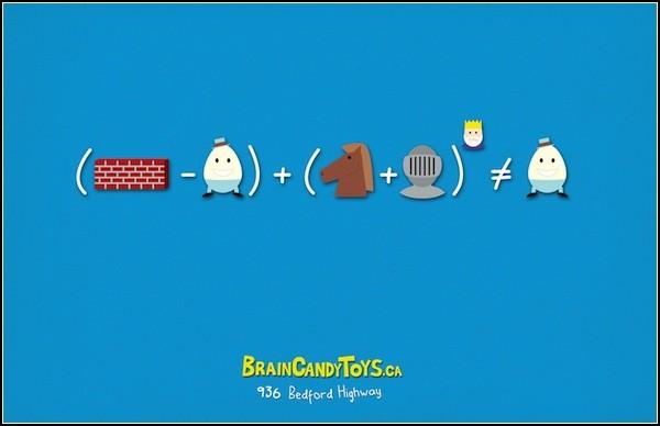 Части сказки - в уравнениях. Шалтай Болтай