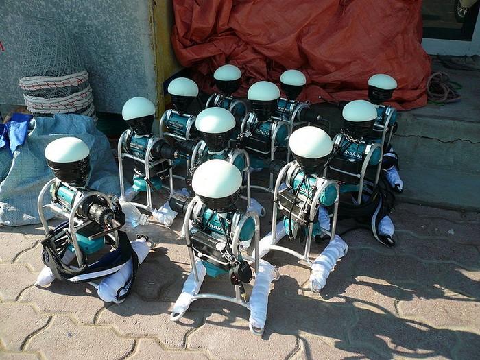 Партия роботов для верблюжьих бегов