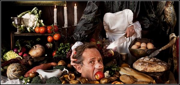 Шеф-повар Дэвид Фергюсон на собственной кухне