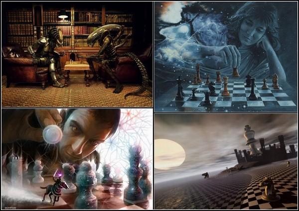 Шахматное поле зрения в современном искусстве