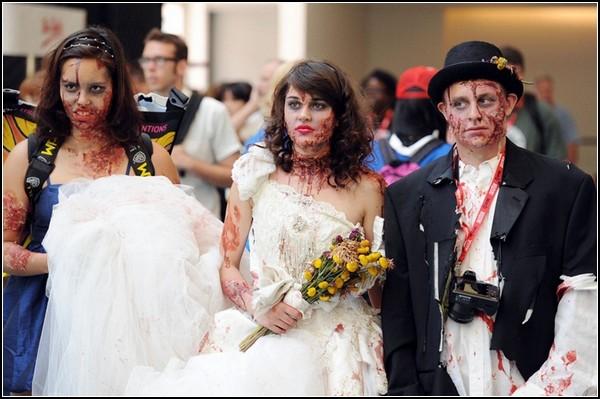 Жители мира комиксов: зомби