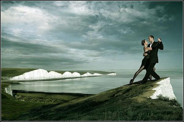 Парные танцы в фотокартинах Жана-Поля Монфора