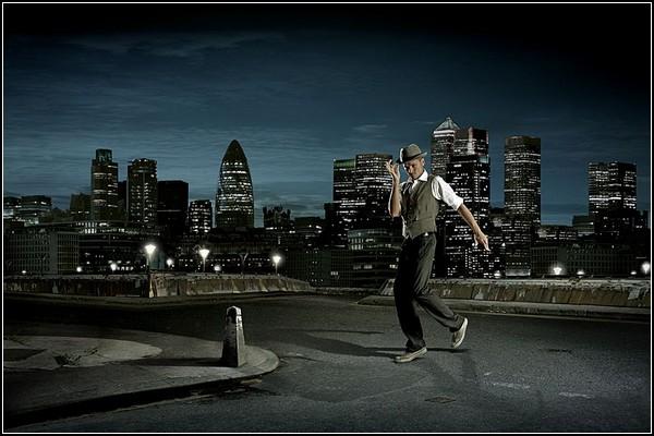 Парные танцы с природой на крыше небоскреба