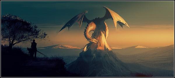 Мир драконов: фэнтези