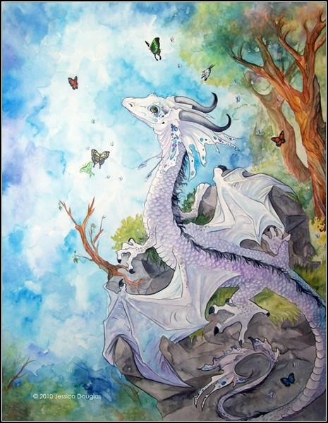 Мир поэтичных драконов