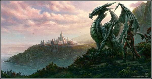 Мир драконов и магии