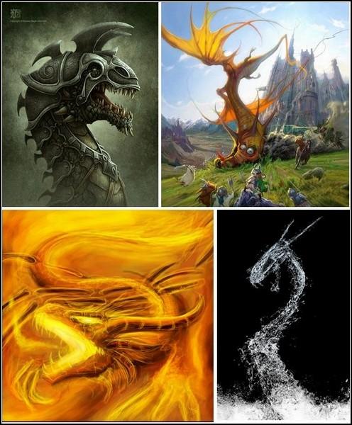 Волшебный мир драконов