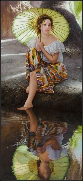 Экзотическая фото-живопись Даффи Шеридана
