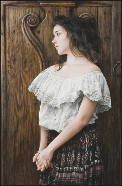 Живопись и фото в картинах Даффи Шеридана.