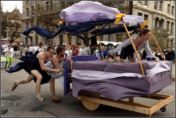 Игры в кровати-2011. Будуар рвется к победе!