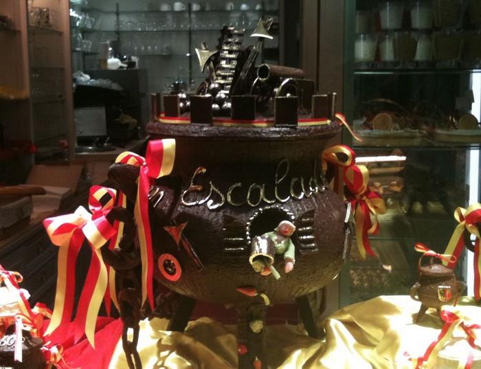 Швейцария, Женева. Шоколадный котел для Эскалады