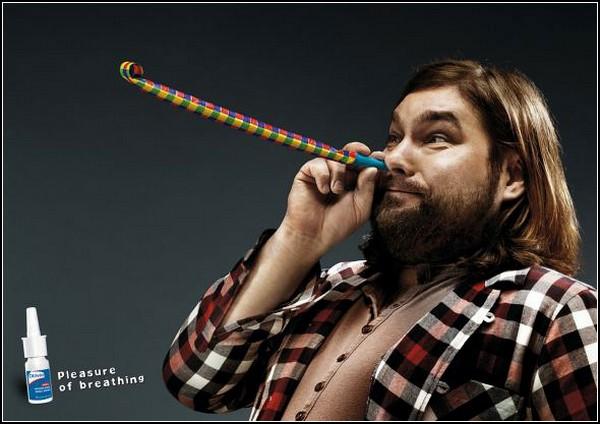Реклама лекарств: носовая гармония