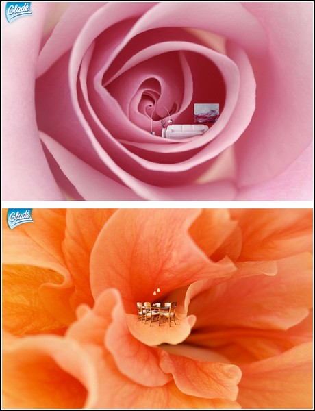 Реклама цветов и цветы в рекламе. Почувствуй себя пчелой