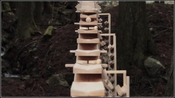 Деревянный ксилофон в вирусной рекламе