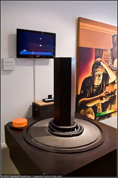 Гигантский джойстик Atari