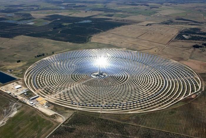 Солнечная станция Gemasolar