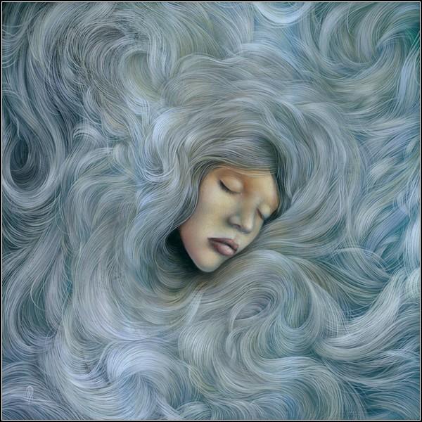 Волны и волосы. Мечтательная живопись Дэна Мея